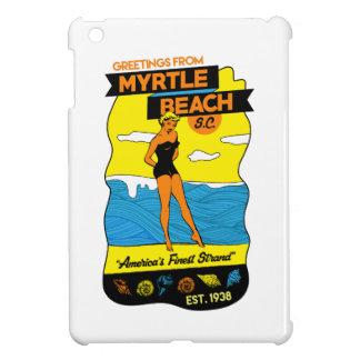 Myrtle- Beachpostkarte iPad Mini Hülle