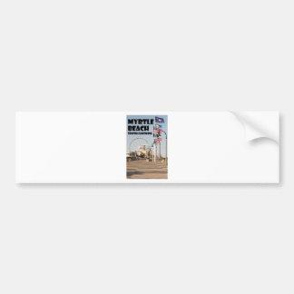 Myrtle- Beachpromenaden-South- Carolinaferien Autoaufkleber