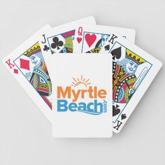 MyrtleBeach.com-Logo Bicycle Spielkarten