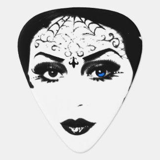 Mysteriöse gotische Dame Plektron
