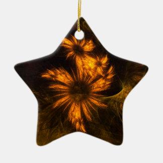 Mystique-Garten-abstrakte Kunst-Stern-Verzierung Keramik Ornament