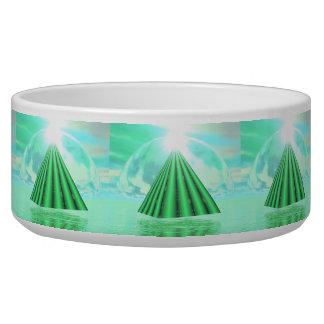 Mystische Pyramide - 3D übertragen Napf