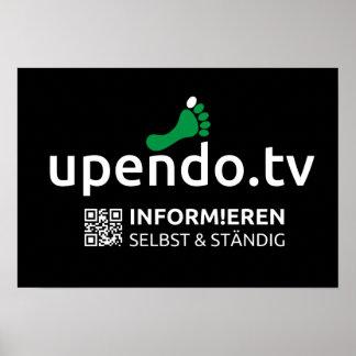 myUPENDO 48cm x 33cm, Matt (www.upendo.tv) Poster