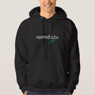 myUPENDO KapuzenSweatshirt black QR(www.upendo.tv) Hoodie
