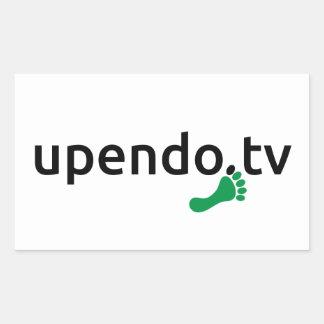 myUPENDO Rechteckige Aufkleber (www.upendo.tv)