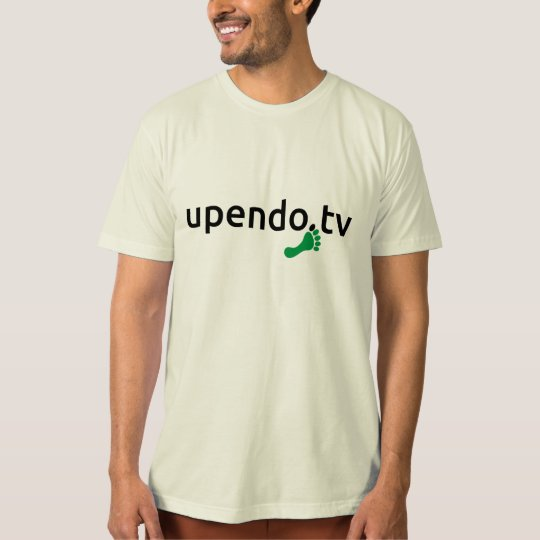 myUPENDO T-Shirt QR Biobaumwolle (www.upendo.tv)