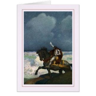 N C Wyeth Grußkarte
