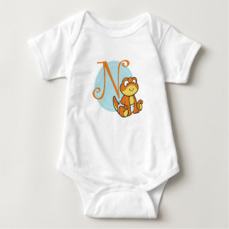 N ist für Newt Baby Strampler