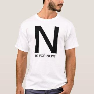 N wenn für Newt T-Shirt