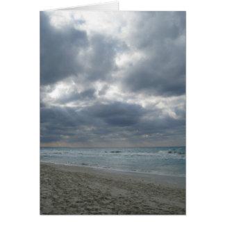 Nach dem Sturm: Varadero, Kuba Karte