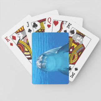 Nach obennahes des Delphins Spielkarten