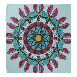 Nachdenklicher Mandala-KunstBandana Kopftücher