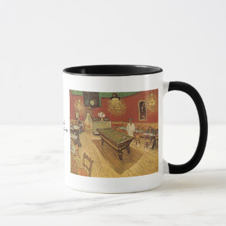 Nachtcafé durch Vincent van Gogh Tasse