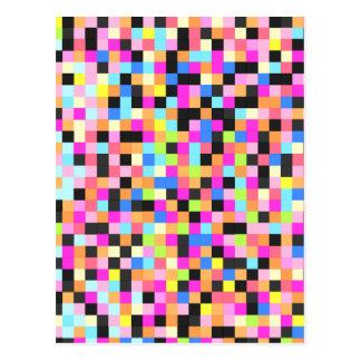 Nachtleben (Pixel-Funk) Postkarte
