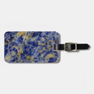 Nah oben von einem blauen Sodalite Gepäckanhänger