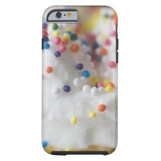 Nahaufnahme von Besprüht und Zuckerguss Tough iPhone 6 Hülle