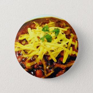NahrungsmittelChili-Käse-Schüsseln Runder Button 5,1 Cm