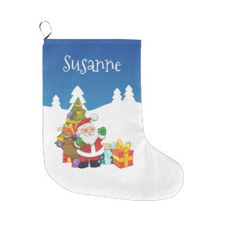 Name-Weihnachten Sankt Große Weihnachtsstrümpfe