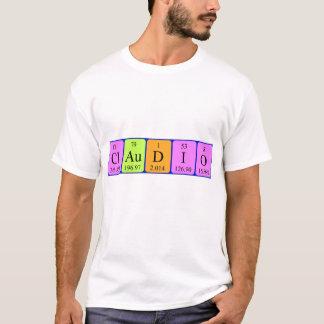 Namen-Shirt der periodischen Tabelle T-Shirt