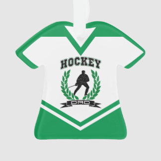 Namen-u. Zahl-Jersey-Hockey-Vati-Verzierung Ornament