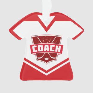 Namen-u. Zahl-Jersey-Hockey-Zug-Verzierung Ornament