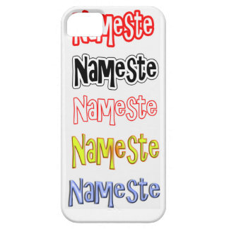 Nameste NAMESTE Hindi-Inder-hallo Bogen Hülle Fürs iPhone 5