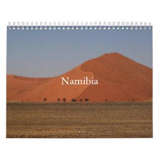 Namibier druckte Kalender