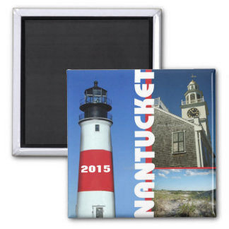 Nantucket Massachusetts Quadratischer Magnet