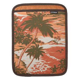 Napili Bucht-hawaiischer Rickshaw iPad Fall iPad Sleeve