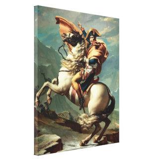 Napoleon Bonaparte zu Pferd Leinwanddrucke