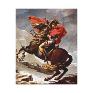 Napoleon, der die Alpen überquert Galerie Falt Leinwand
