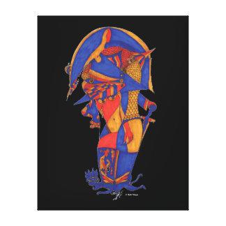 NAPOLEON. Nabil Khazen Kunst auf Segeltuch Gespannter Galeriedruck