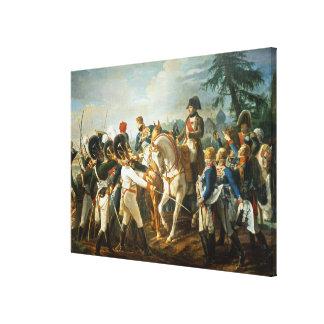 Napoleon und der Bayer und das Wurttemberg Leinwand Drucke