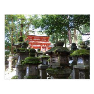 Nara Japan Postkarte