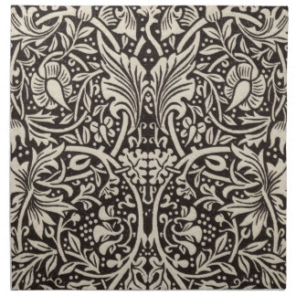 Narzissen-Blumenmuster Williams Morris Vintag Serviette