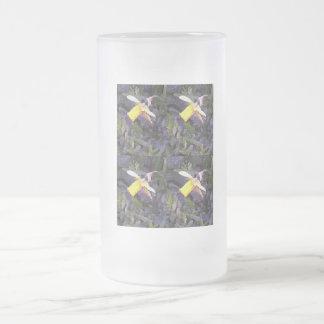 Narzissen-Gemisch Mattglas Bierglas