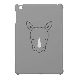Nashorn grauer ipad Kasten iPad Mini Hülle