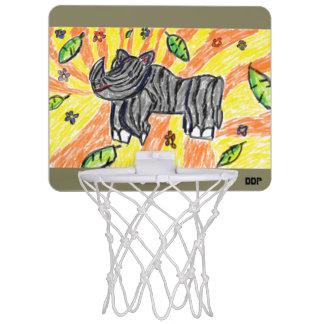 Nashornkunst Mini Basketball Ringe