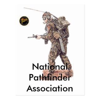 Nationale Pfadfinder-Vereinigung Postkarte