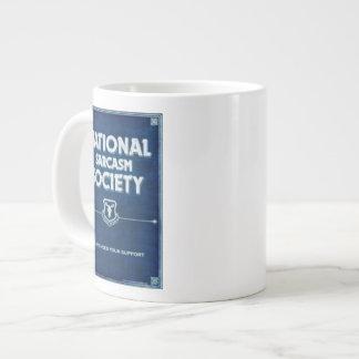 Nationale Sarkasmus-Gesellschaft Jumbo-Tasse