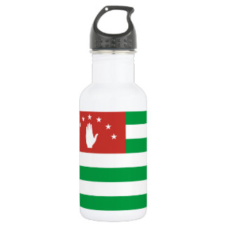 Nationale Weltflagge Abchasiens Trinkflasche