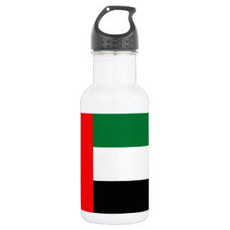 Nationale Weltflagge Arabische Emirates Trinkflasche