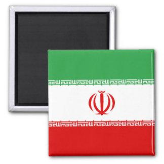Nationale Weltflagge des Irans Quadratischer Magnet