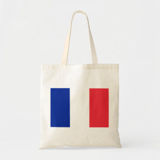 Nationale Weltflagge Frankreichs Tragetasche
