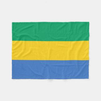Nationale Weltflagge Gabuns Fleecedecke
