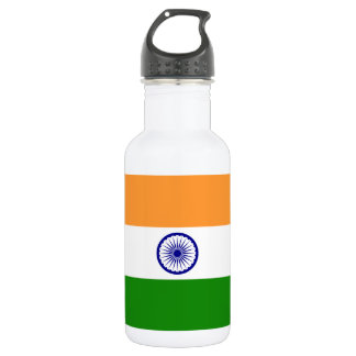 Nationale Weltflagge Indiens Trinkflasche