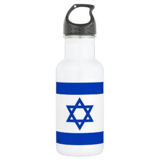 Nationale Weltflagge Israels Edelstahlflasche