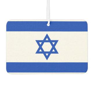 Nationale Weltflagge Israels Lufterfrischer