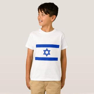 Nationale Weltflagge Israels T-Shirt
