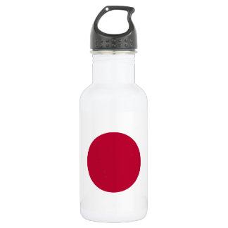 Nationale Weltflagge Japans Trinkflasche
